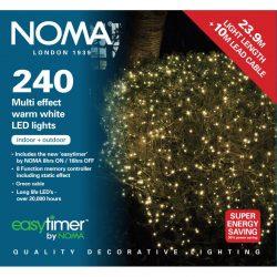 NOMA 240 Multi Function String LED Lights, Antique White