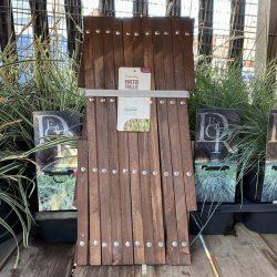 1.8m x 0.3m Riveted Garden Trellis – Tan