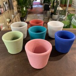 Pot Containers, Forest Green