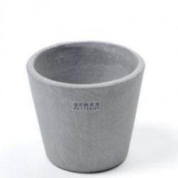 Pot Containers, Mouse Grey