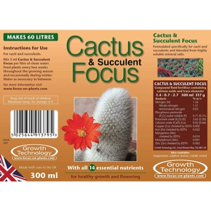 Cactus / Succulent – Feed / Nutrition
