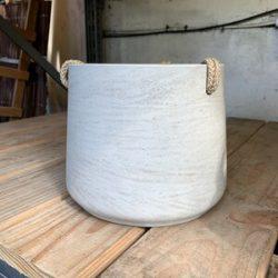 Patt L (Hanging) Grey Washed