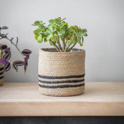 Striped Pot – Jute