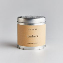St. Eval Scented Tin Candle – Embers