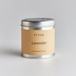 St Eval Scented Tin Candle – Lavender