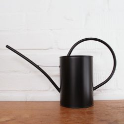 Savanna Watering Can – Black Matte