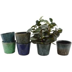 Old Style Dutch Pots Blue/Green – Assorted Designs