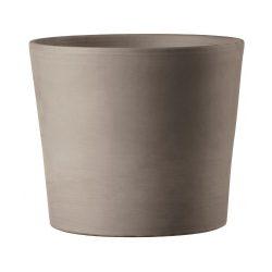 Vaso Cilindrico Terracotta Pot – Graphite