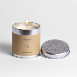 St. Eval Scented Tin Candle  – Joy