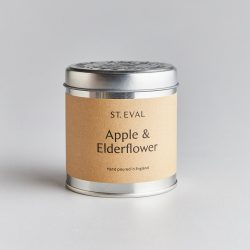 St. Eval Scented Tin Candle – Apple & Elderflower