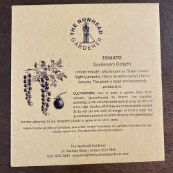 Tomatoes – Gardeners Delight