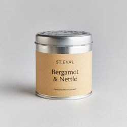 St. Eval Scented Tin Candle – Bergamot & Nettle