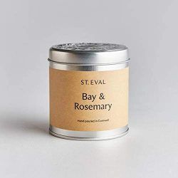 St. Eval Scented Tin Candle – Bay & Rosemary