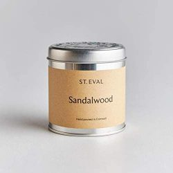 St. Eval Scented Tin Candle – Sandalwood