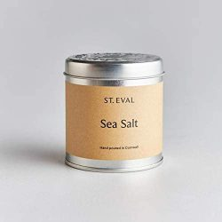 St. Eval Scented Tin Candle – Sea Salt