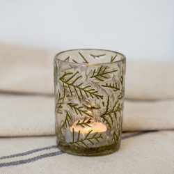 Votive Leaf Small