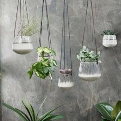 Matamba Ceramic Hanging Planter – Match – Large