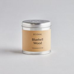 St. Eval Scented Tin Candle – Tin Bluebell Wood
