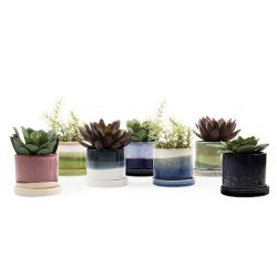 Minute Planter – Green Layers- 7CM