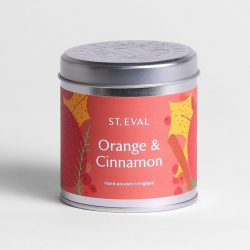 ORANGE AND CINNAMON CHRISTMAS TIN