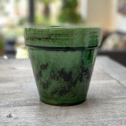 Burmese Lip Pot Green – Small