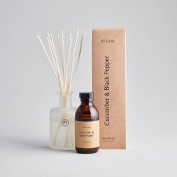 Reed Diffuser Cucumber & Black Pepper – Boxed Set