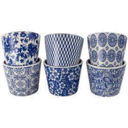 Old Style Dutch Pot Blue 6 Asst Designs