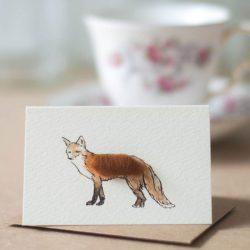 Mini Fox card