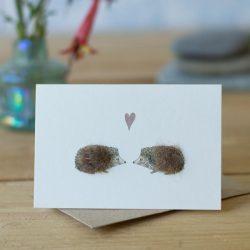 Mini Hedgehogs in Love